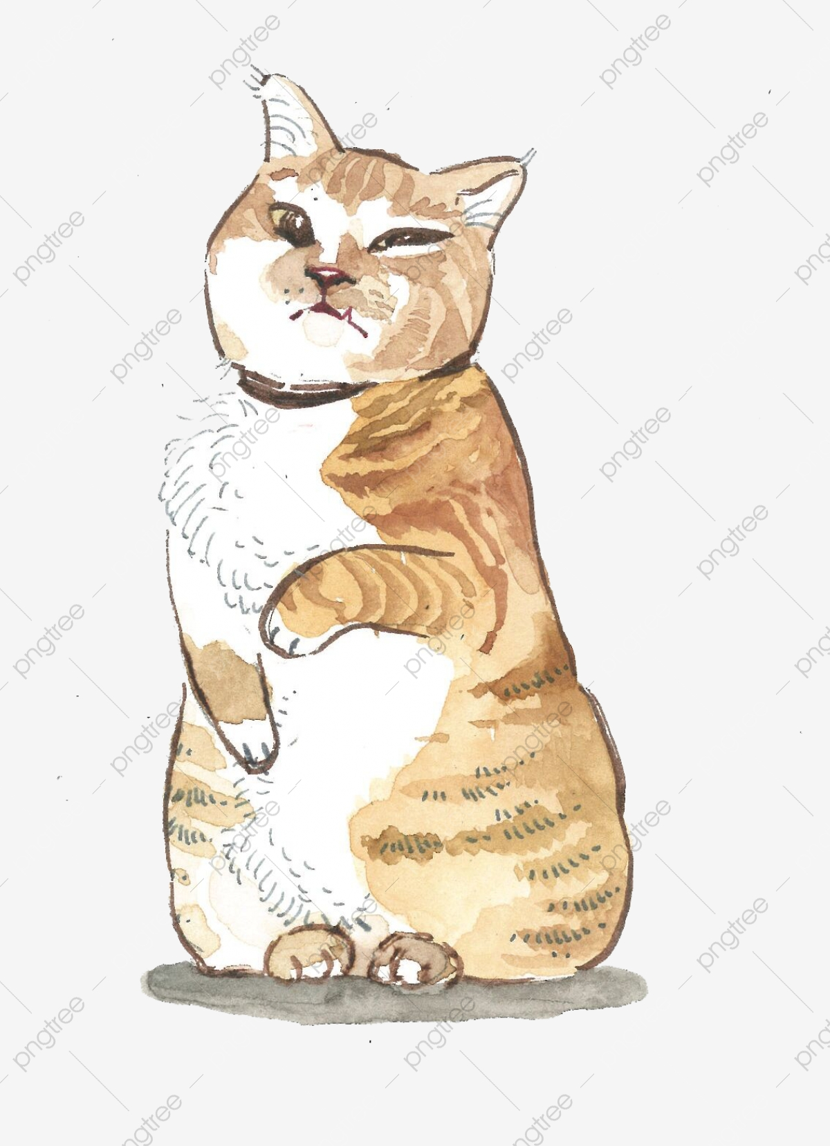 Pet Cat Family Cute Master Orange Cat Png, Cat, Cat, Cute ... (1200 x 1651 Pixel)