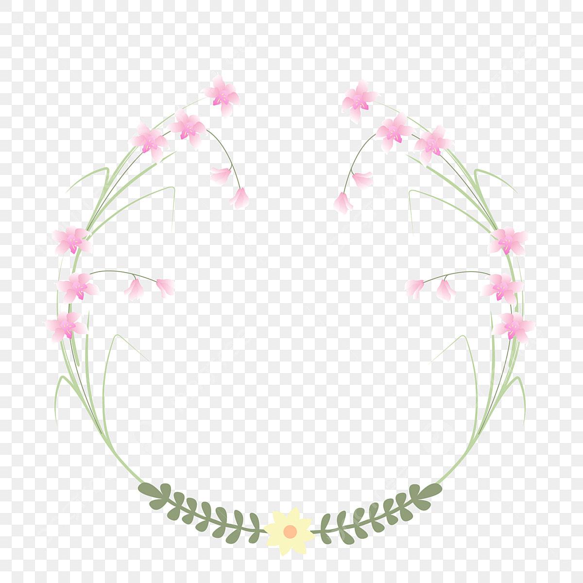 Orchidée Rose Illustration De Dessin Animé Illustration De