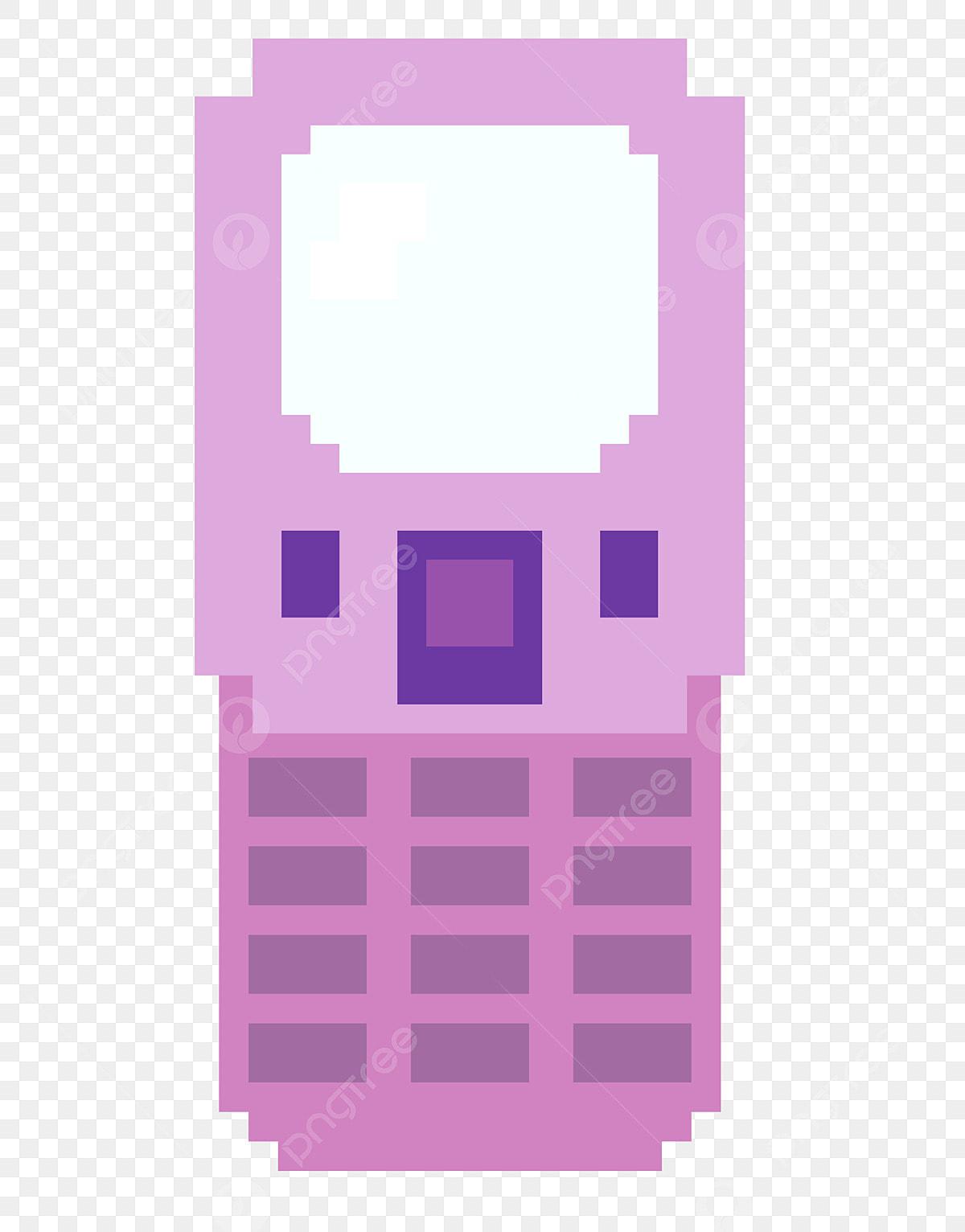 Téléphone Portable Rose Illustration De Dessin Animé