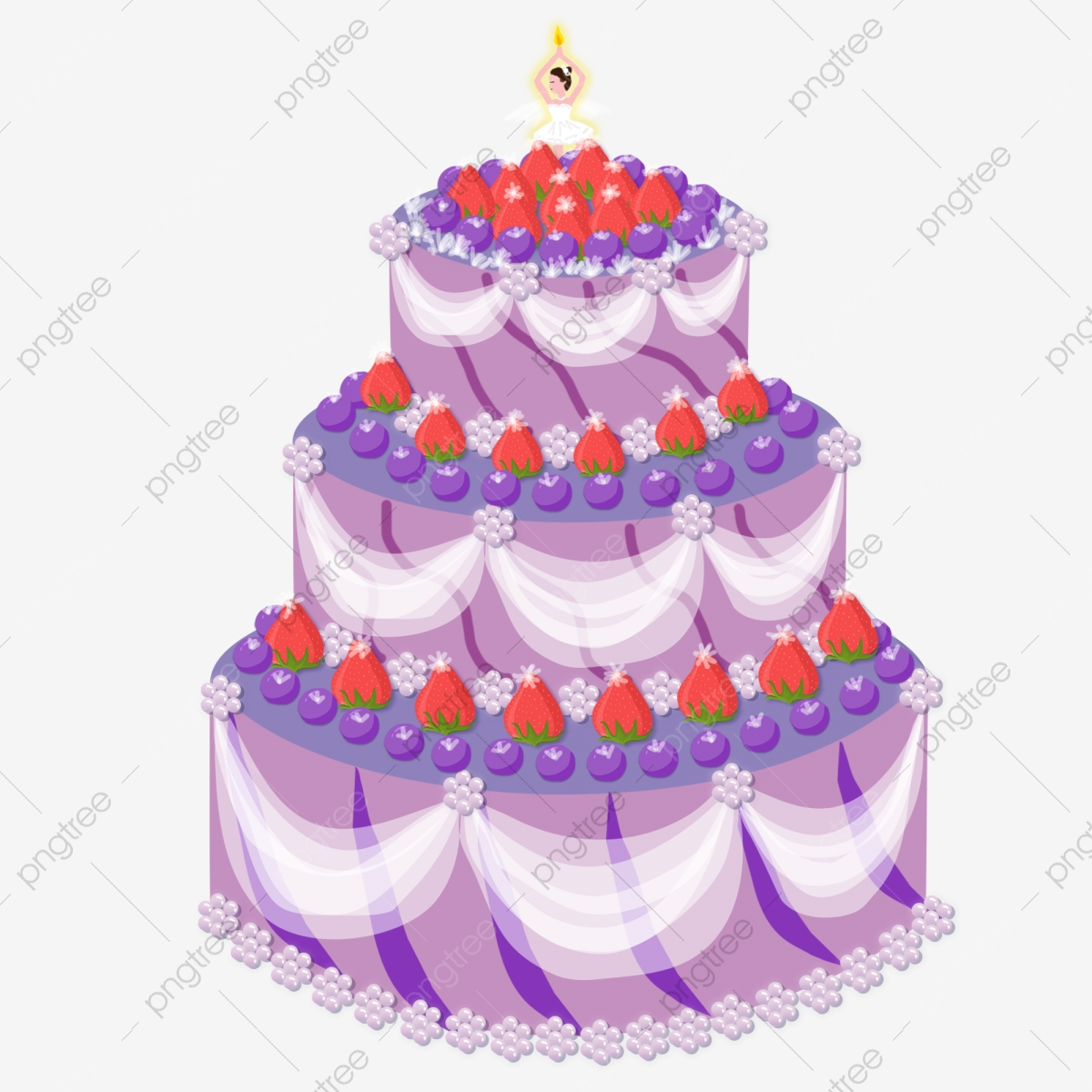 Pleasant Princess Style Has A Multi Layered Birthday Cake Png Free Birthday Cards Printable Nowaargucafe Filternl