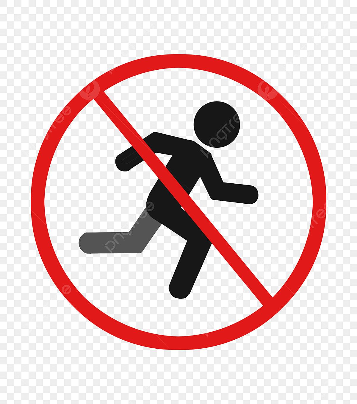 No Corre Advierte Corre Señal, No Correr, Advertencia ...