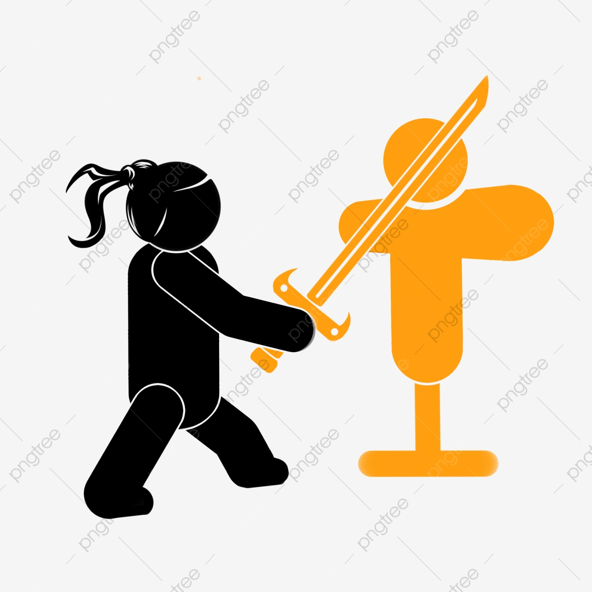 Stick Figure Running Clip Art - Pivot Animator - Stickman Cliparts  Transparent PNG