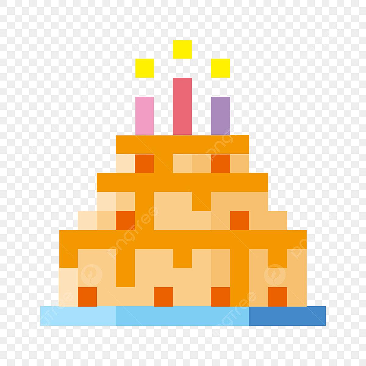 Délicieux Gâteau Gâteau à Trois Couches Bougie D