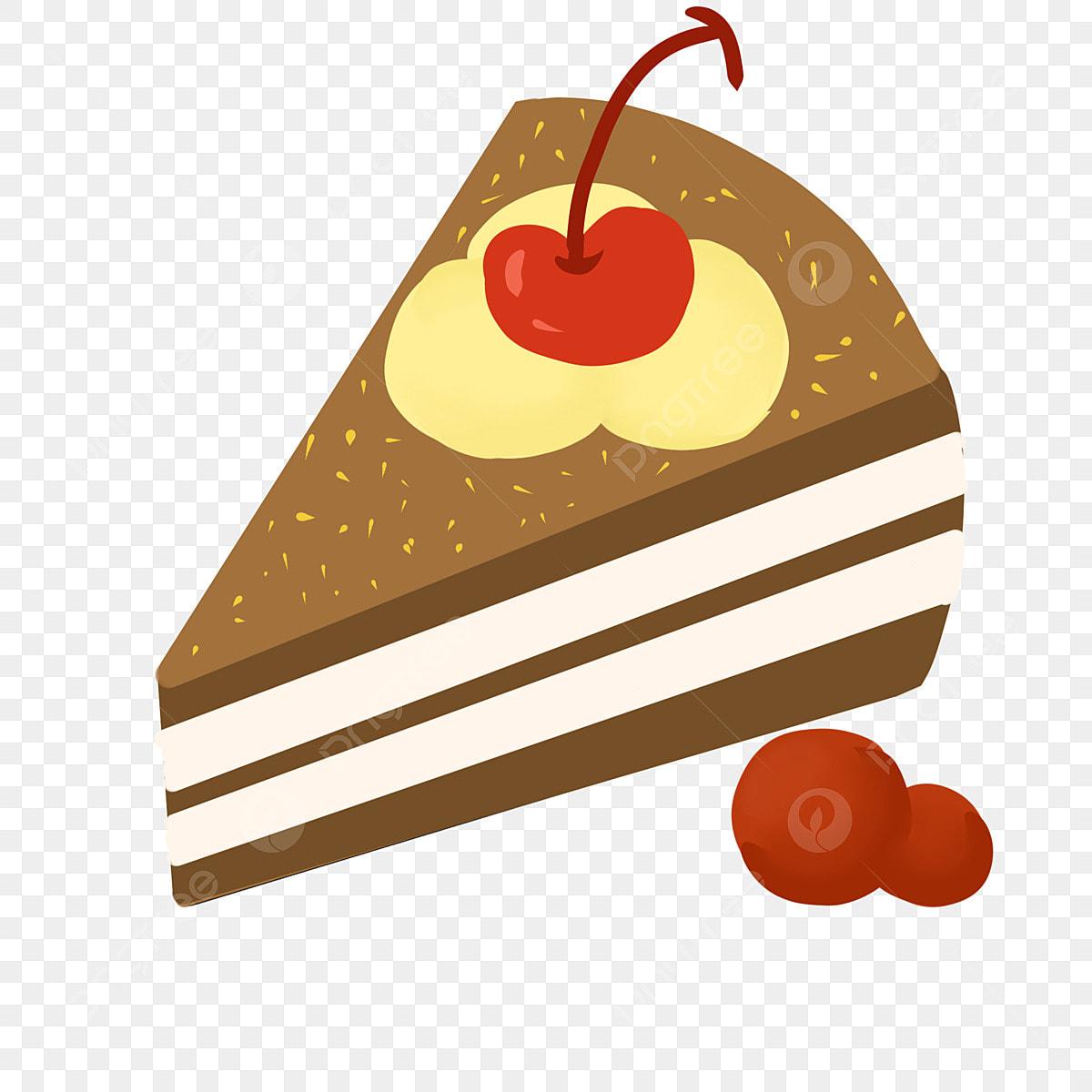 Kue Krim Sandwic Kue Kartun Ilustrasi Kue Ilustrasi Makanan Ringan
