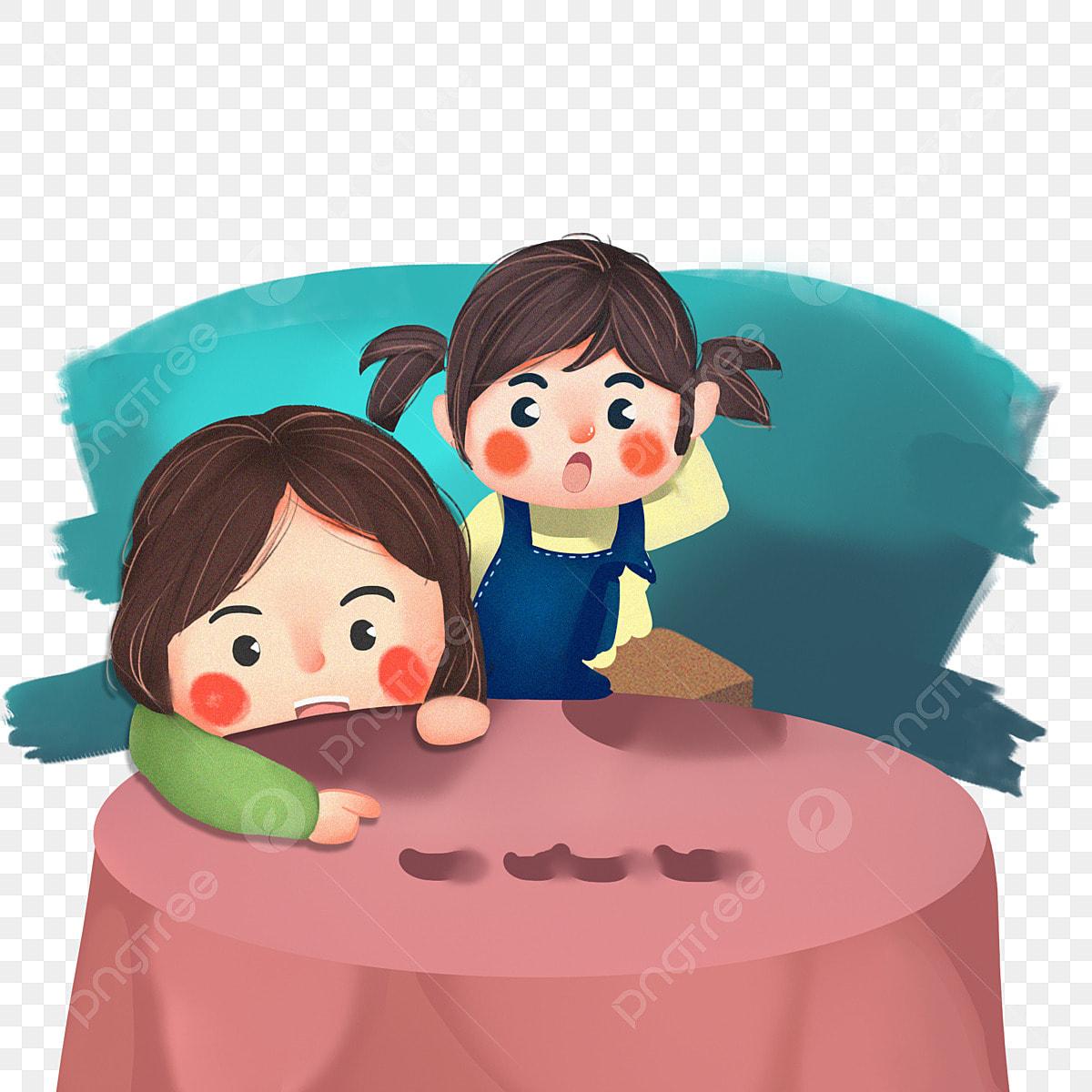أطفال كارتون صور مجانية لعب على الطاولة أطفال يتناولون الطعام كرتون اطفال صور مجانية تلعب على الطاولة Png وملف Psd للتحميل مجانا
