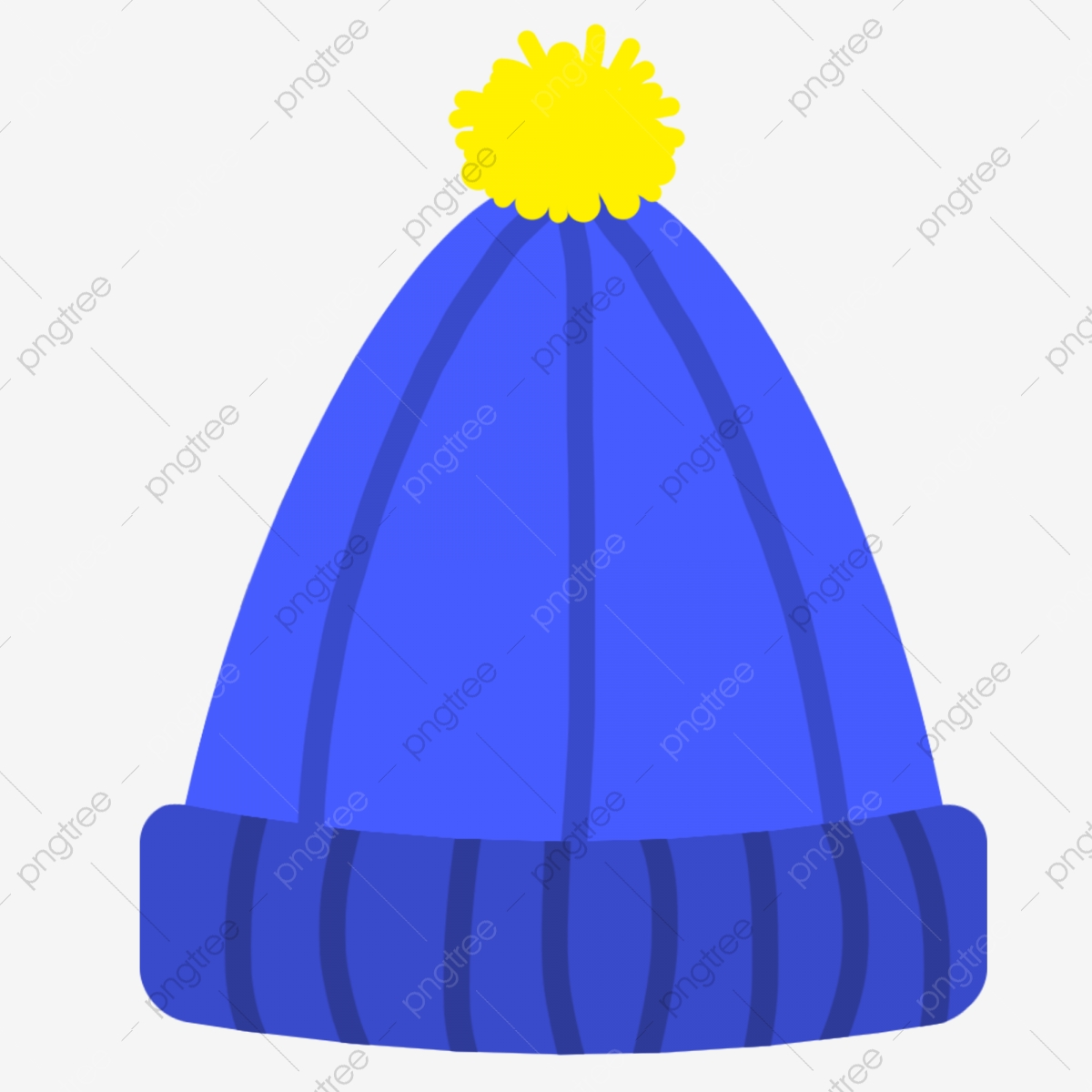 Winter Hat Sketchpad Illustration Blue Hat Cartoon Illustration Decorative Illustration Png Transparent Clipart Image And Psd File For Free Download