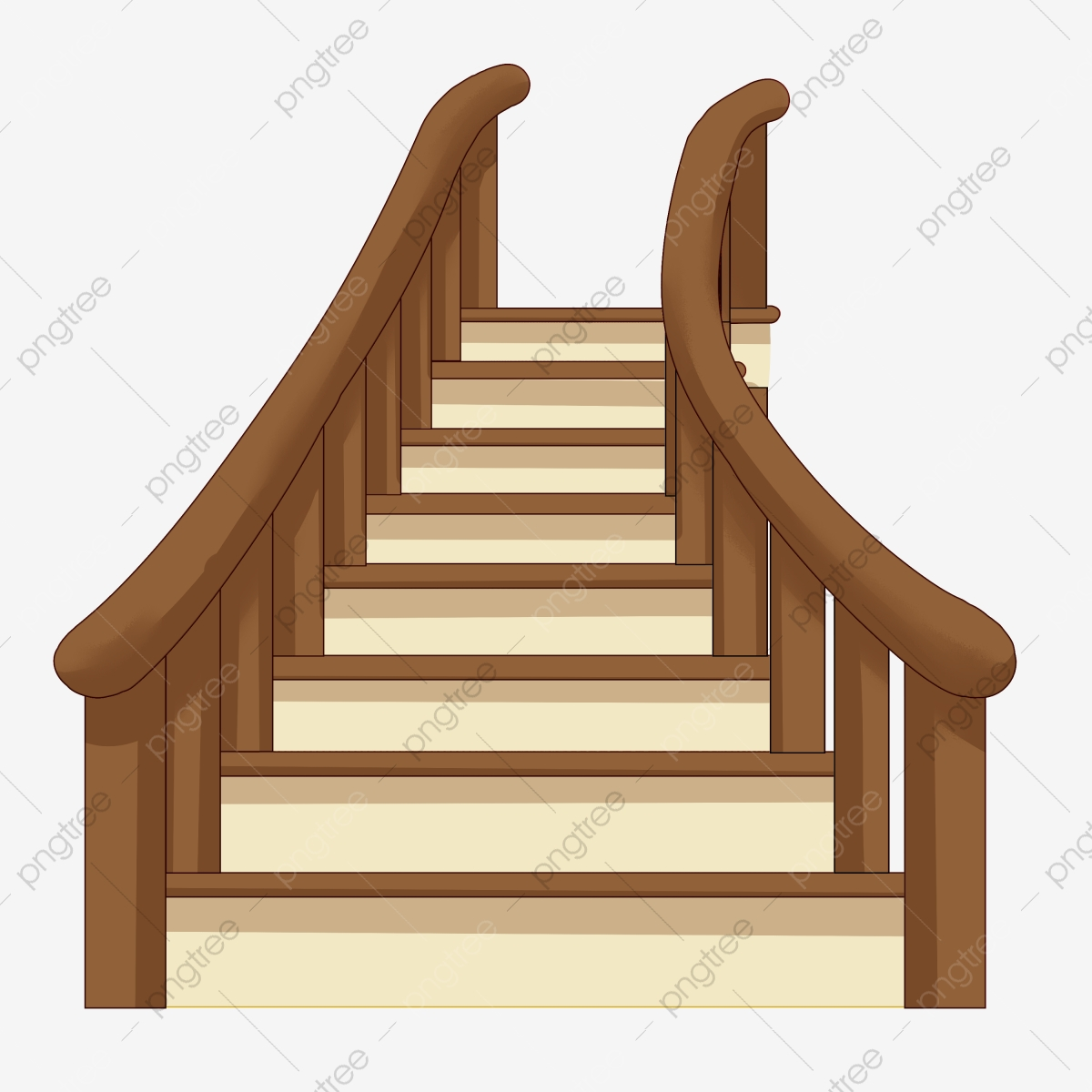 wooden stairs ladder illustration wooden stairs stairs illustration cartoon illustration png transparent clipart image and psd file for free download https pngtree com freepng wooden stairs ladder illustration 4684365 html
