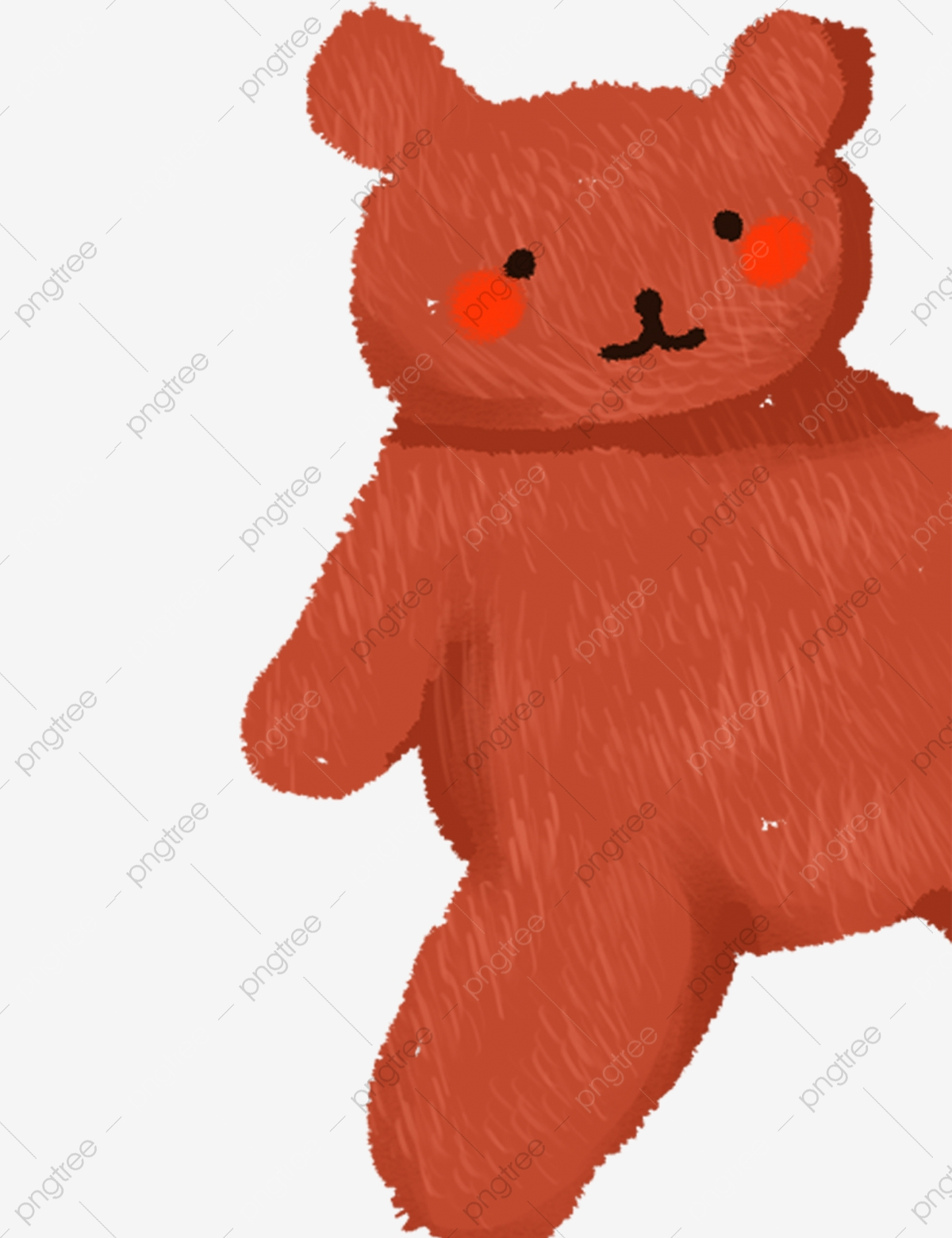 Bear Doll Vector PSD And Clipart With Transparent