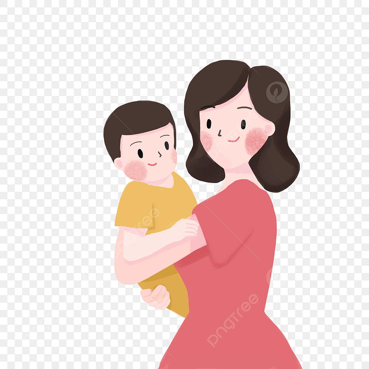 Gambar Anak Ibu Penyayang Seorang Ibu Yang Anak Png Dan Psd Untuk Muat Turun Percuma