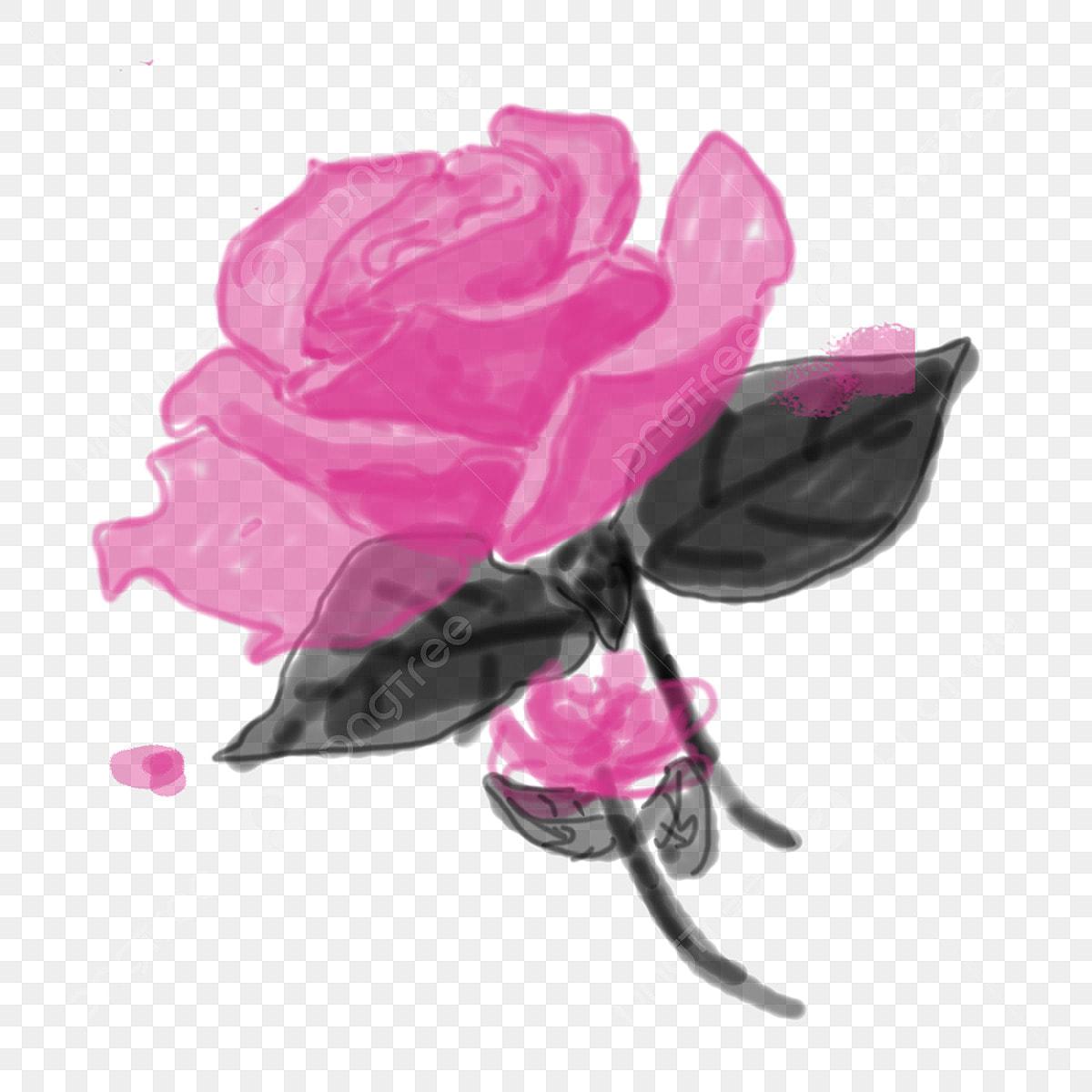Dessin Anime Barbele Rose Dessin Anime Fleur Rose Un Rose Rose