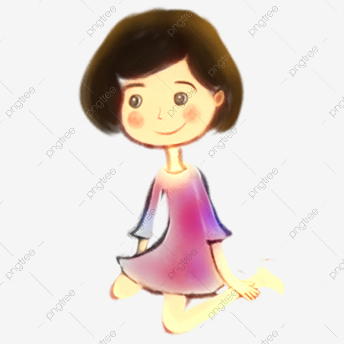 Gambar Kartun Wanita Rambut Panjang Gambar Kartun Gadis Rambut Pendek Gadis Comel Gadis Kecoklatan Biru Ungu Panjang Kartun Gadis Cantik Rambut Pendek Yang Berlutut Wanita Png Dan Psd Untuk Muat Turun Percuma