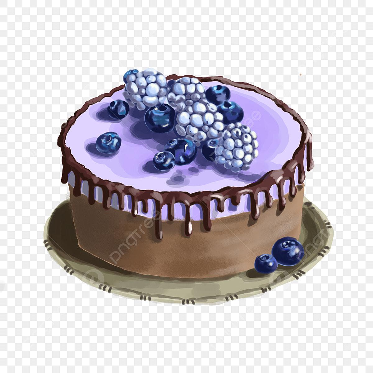 Gambar Kek Bulat Kek Blueberry Kek Cantik Hiasan Kek Kek Coklat Hiasan Kek Kek Krim Png Dan Psd Untuk Muat Turun Percuma