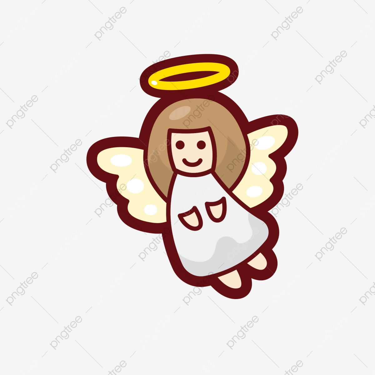 Cartoon Angel Angel Clipart Little Angel Angel Png Transparent Clipart Image And Psd File For Free Download