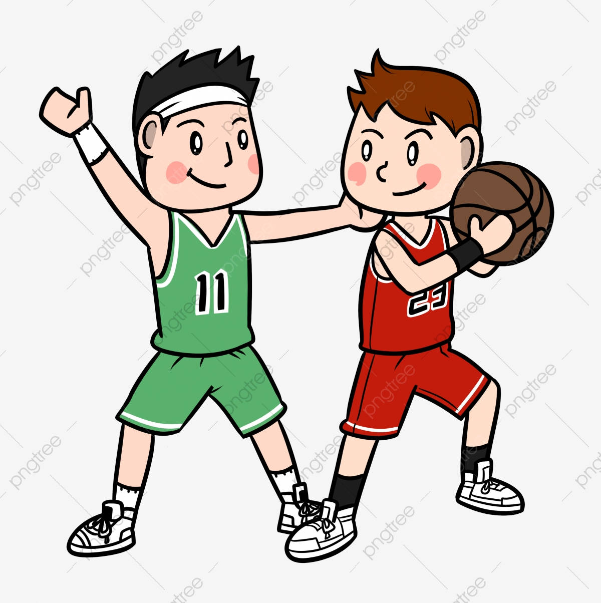 Cartoon Basketball Player Playing Basketball Png Transparent Bottom Cartoon Basketball Basketball Team Png Transparent Clipart Image And Psd File For Free Download