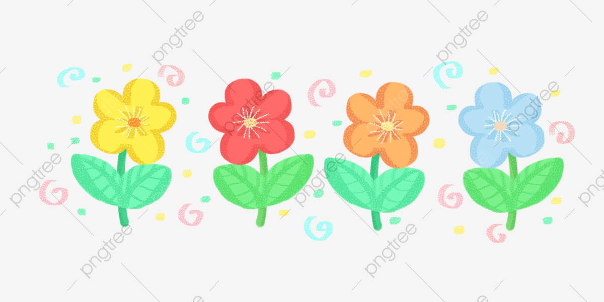 Cartoon Flower Png Free Map Cartoon Flowers Small Flowers Flowers Png Transparent Clipart Image And Psd File For Free Download