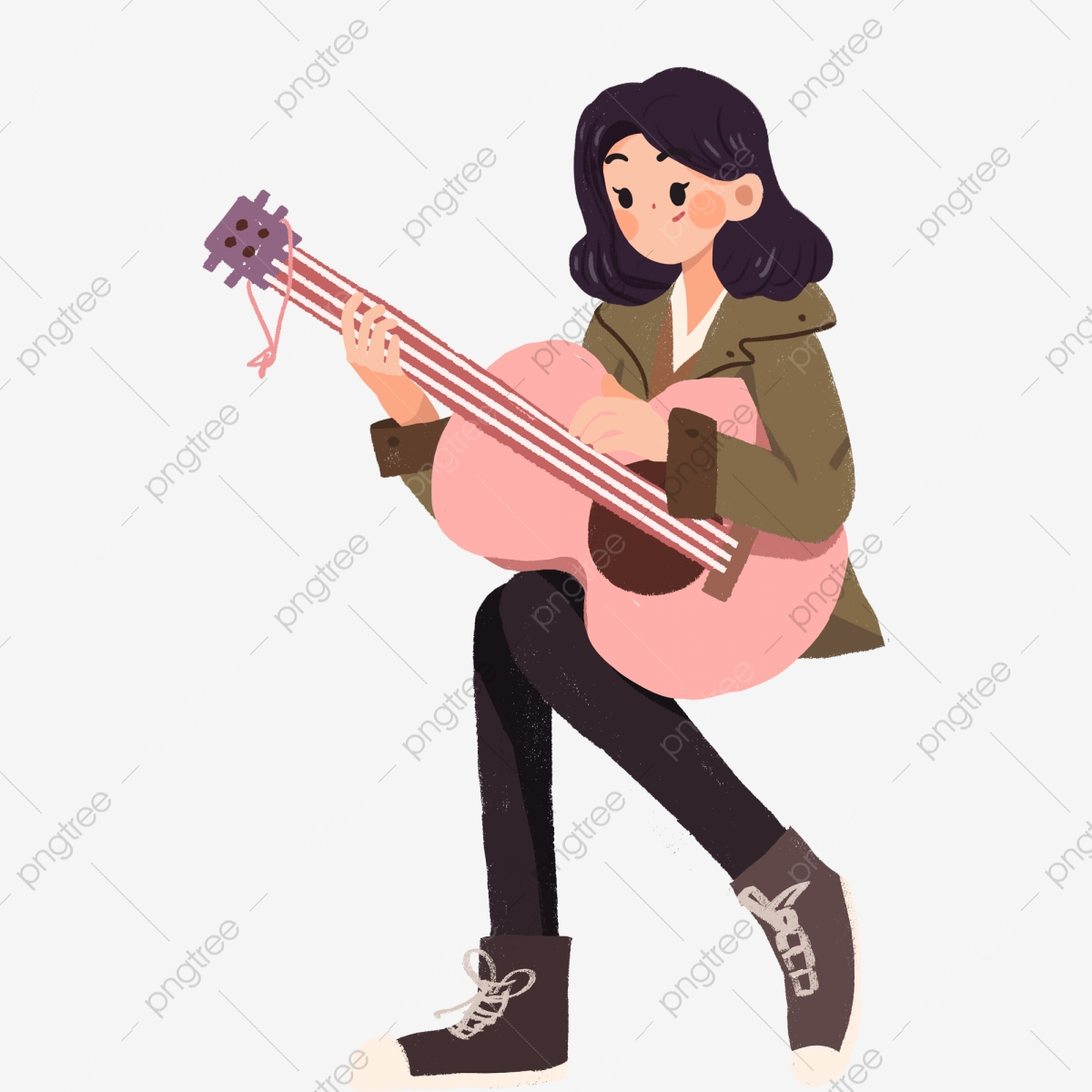 Cartoon Illustration Of Musical Instruments Objects Clip Art.. Royalty Free  Cliparts, Vectors, And Stock Illustration. Image 126166866.