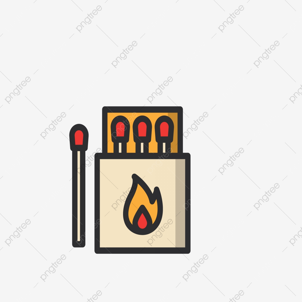 cartoon match icon free illustration matchstick tool yellow match ui app icon png and vector with transparent background for free download https pngtree com freepng cartoon match icon free illustration 4694551 html