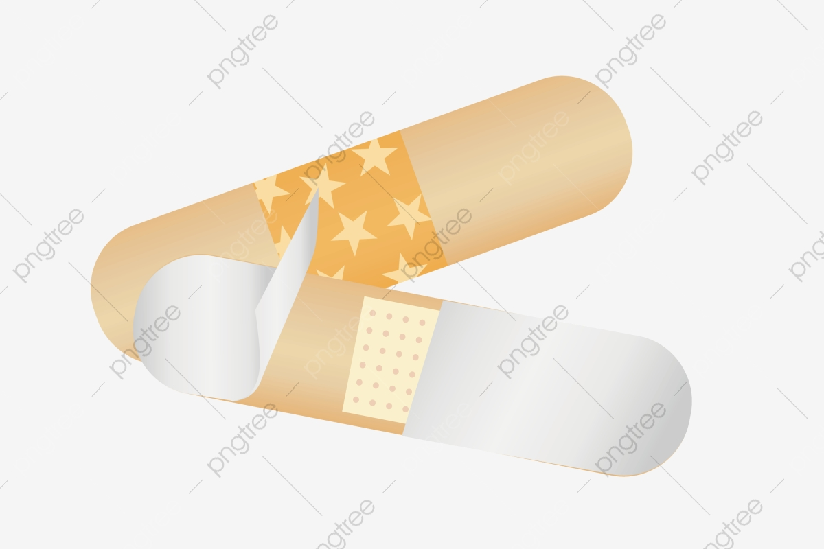 Cartoon Medical Band Aid Illustration Band Aid Public Medical Supplies Cartoon Band Aid Png And Vector With Transparent Background For Free Download