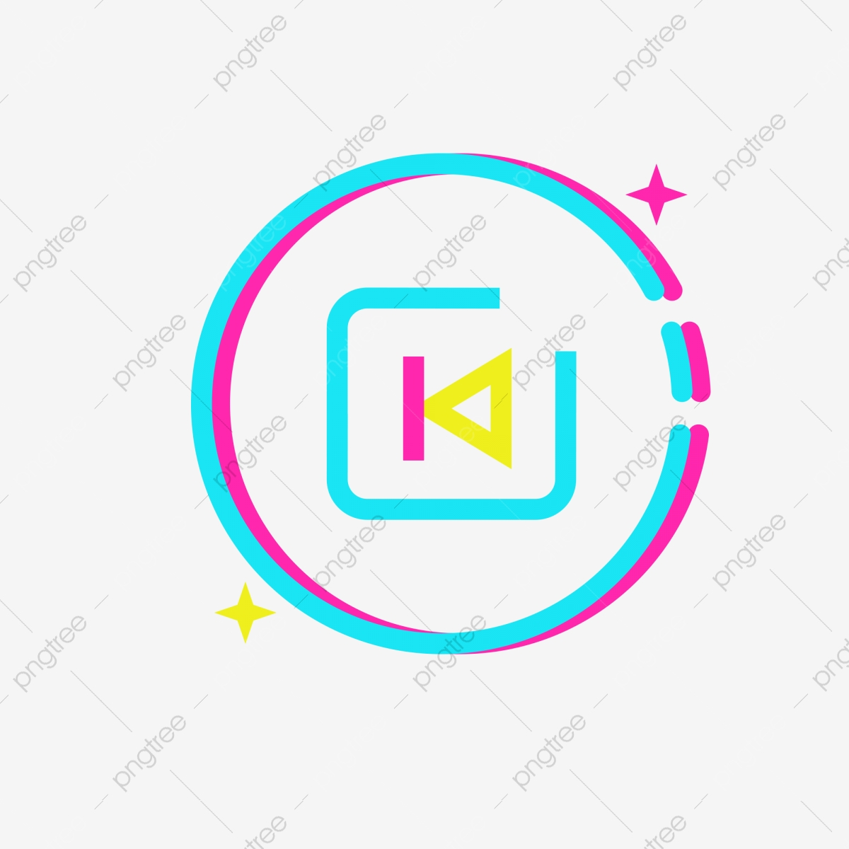 Cartoon Music Play Icon Download Player Video Player Video Icon Png Transparent Clipart Image And Psd File For Free Download