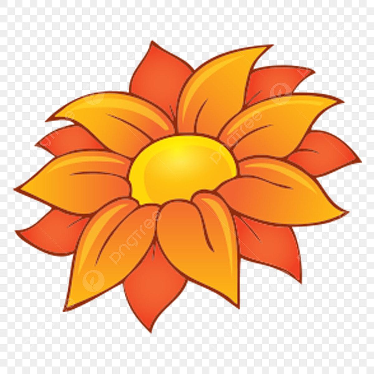 Dessin Anime Fleur Illustration De Boucle Libre De Fleur D Oranger