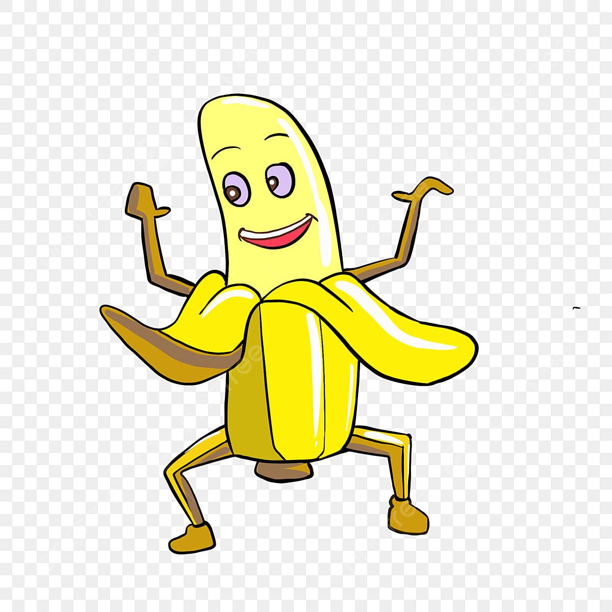 Ilustrasi Pisang Pisang Kuning Ilustrasi Buah Kartun Buah