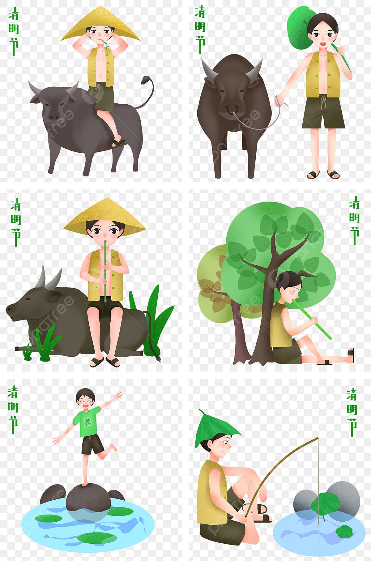 Tokoh Festival Ching Ming Mewarnai Koleksi Ilustrasi