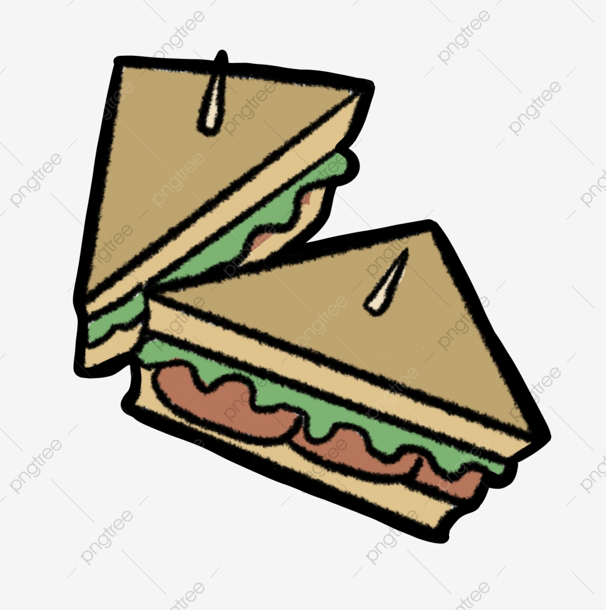 delicious sandwich cartoon illustration snacks sandwiches food png transparent clipart image and psd file for free download https pngtree com freepng delicious sandwich cartoon illustration 4736002 html