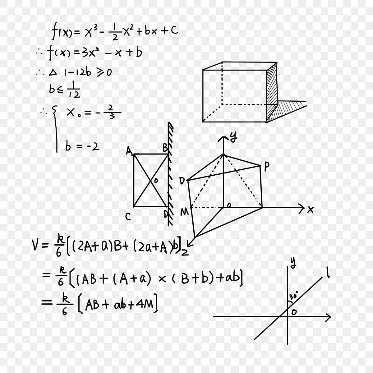 学習 方程式 数式 デジタル数学式 学習画像とpsd素材ファイルの無料ダウンロード Pngtree