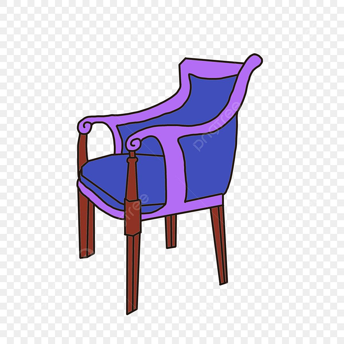 European Blue Sofa Chair European Style Blue Chair Png