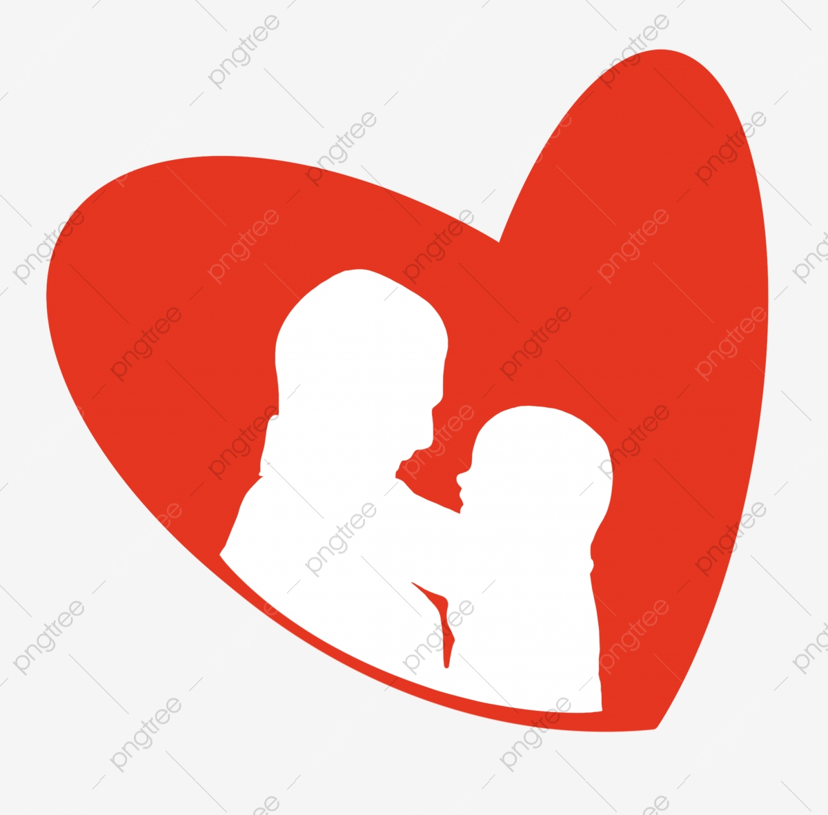 Silhouette Clip Art - Tree - Couple In Love Transparent PNG