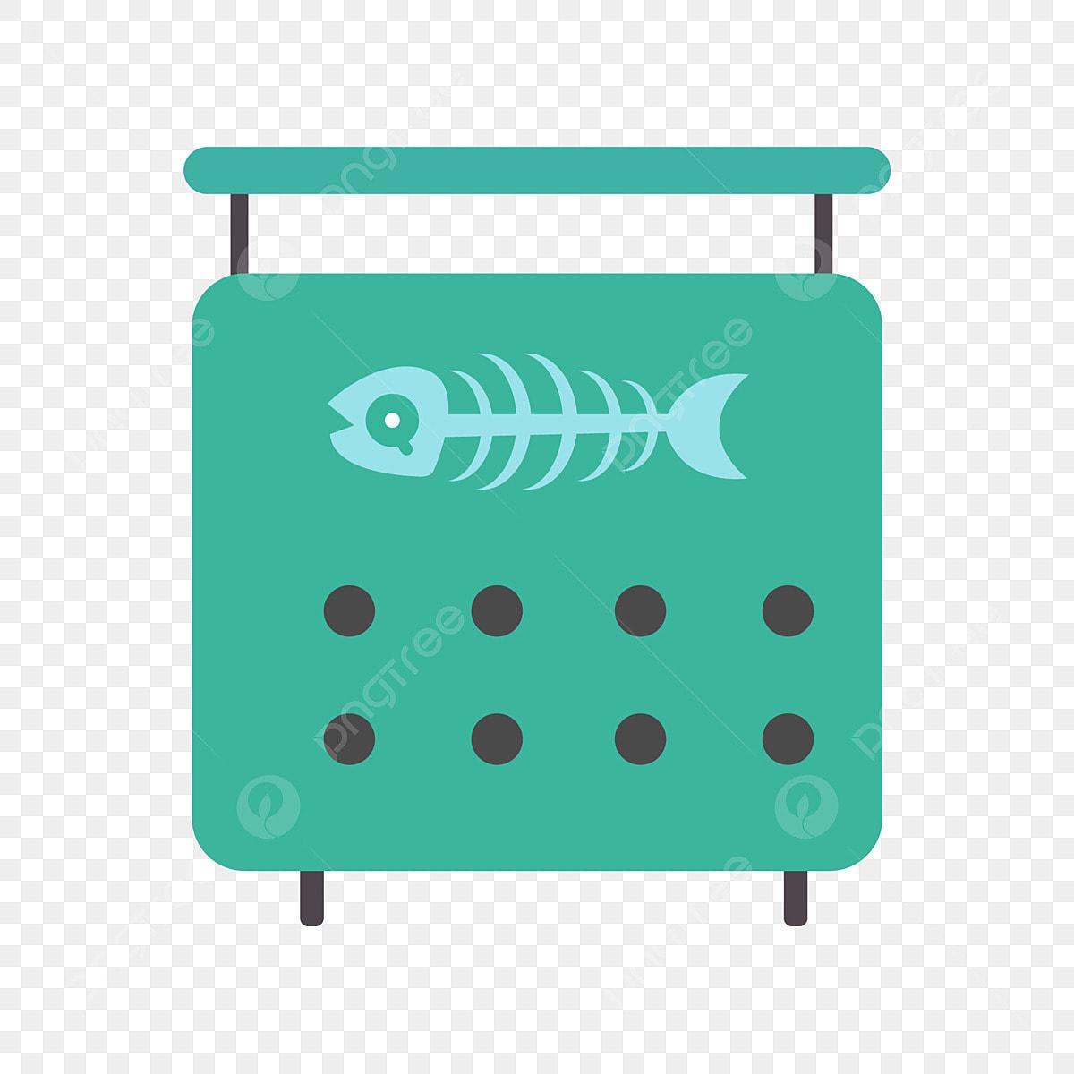 Green Kitchen Waste Bin, Green, Kitchen Waste, Trash Can PNG ...