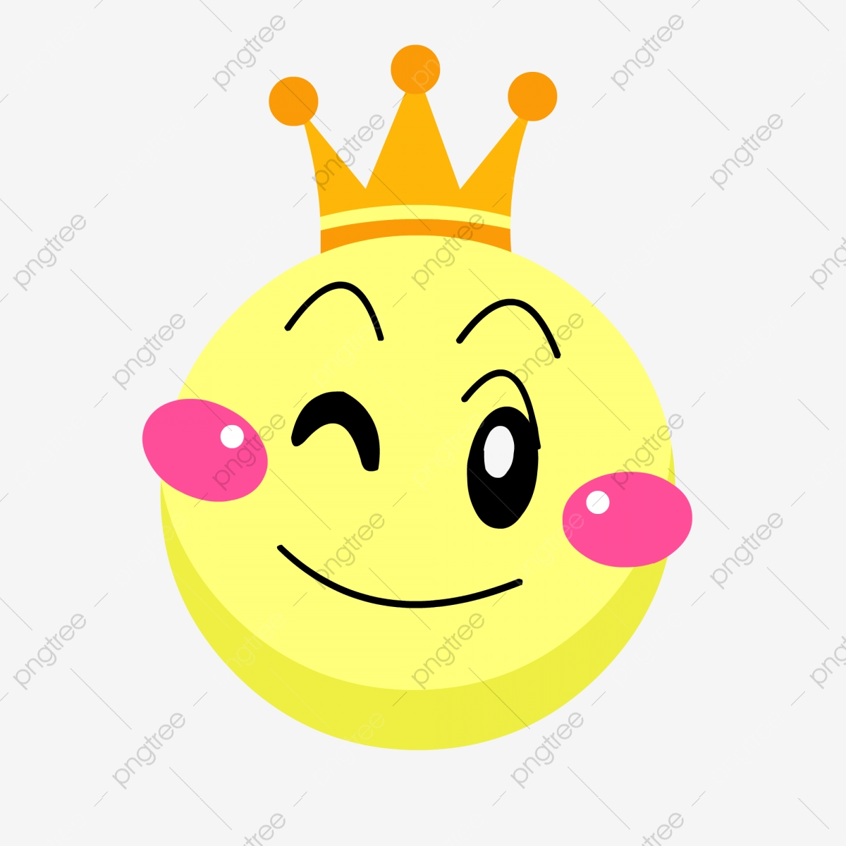 Hand Drawn Yellow Round With Crown Cute Round Smiley Face Crown Cartoon Crown Hand Drawn Expressions Png And Vector With Transparent Background For Free Download It's high quality and easy to use. https pngtree com freepng hand drawn yellow round with crown cute round smiley face 4715551 html