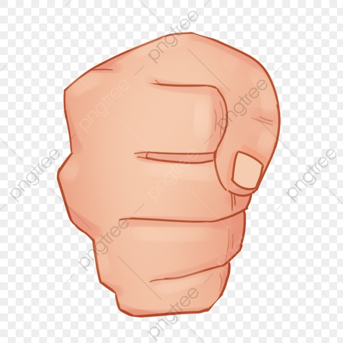 Heavy Punch Gesture Fist Clenched Fist Creative Gesture Png Transparent Clipart Image And Psd File For Free Download