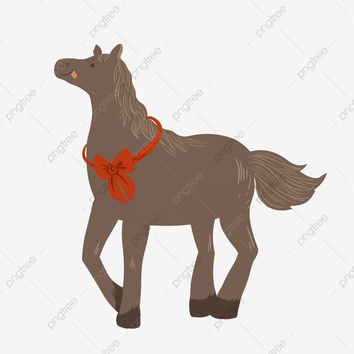 Horse Zodiac Cartoon Hand Drawn Cute Horse Zodiac Cartoon Hand Drawn Png Transparent Clipart Image And Psd File For Free Download