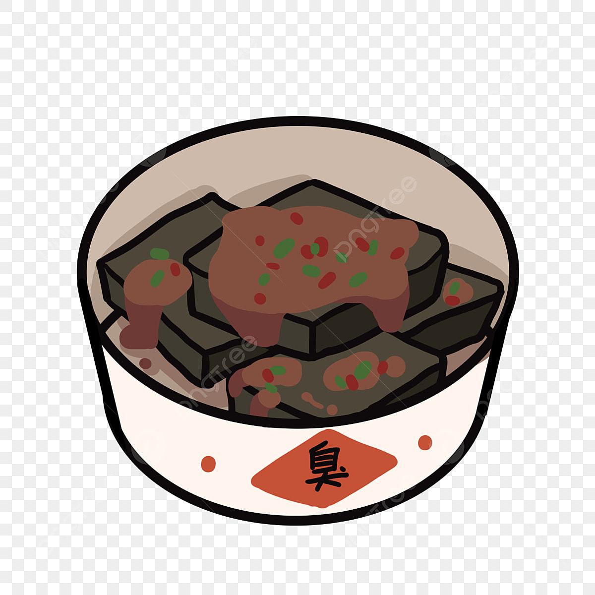 Makanan Ringan Tauhu Ilustrasi Kartun Ilustrasi Makanan Ringan