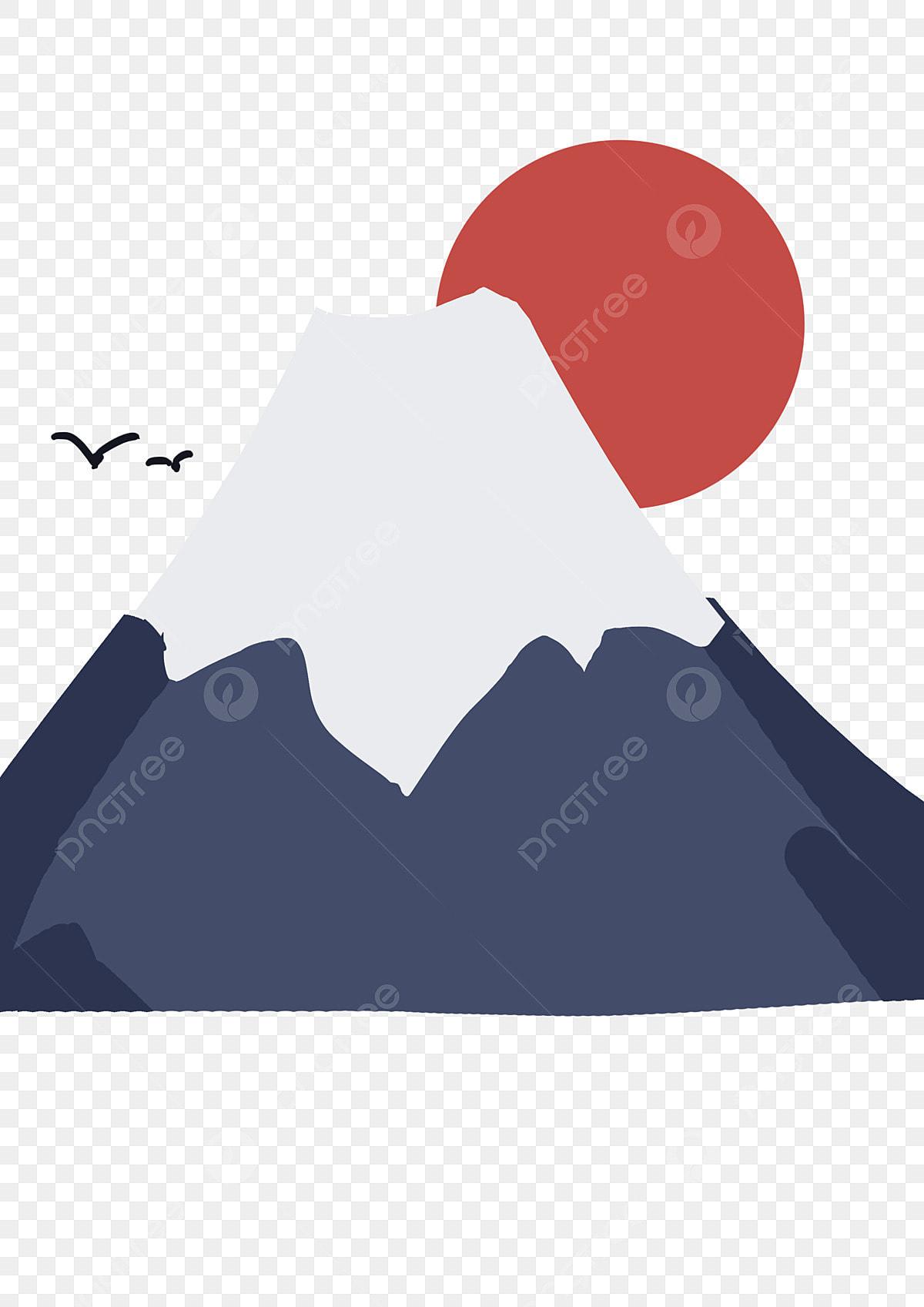 Clip Art Mountains Japan