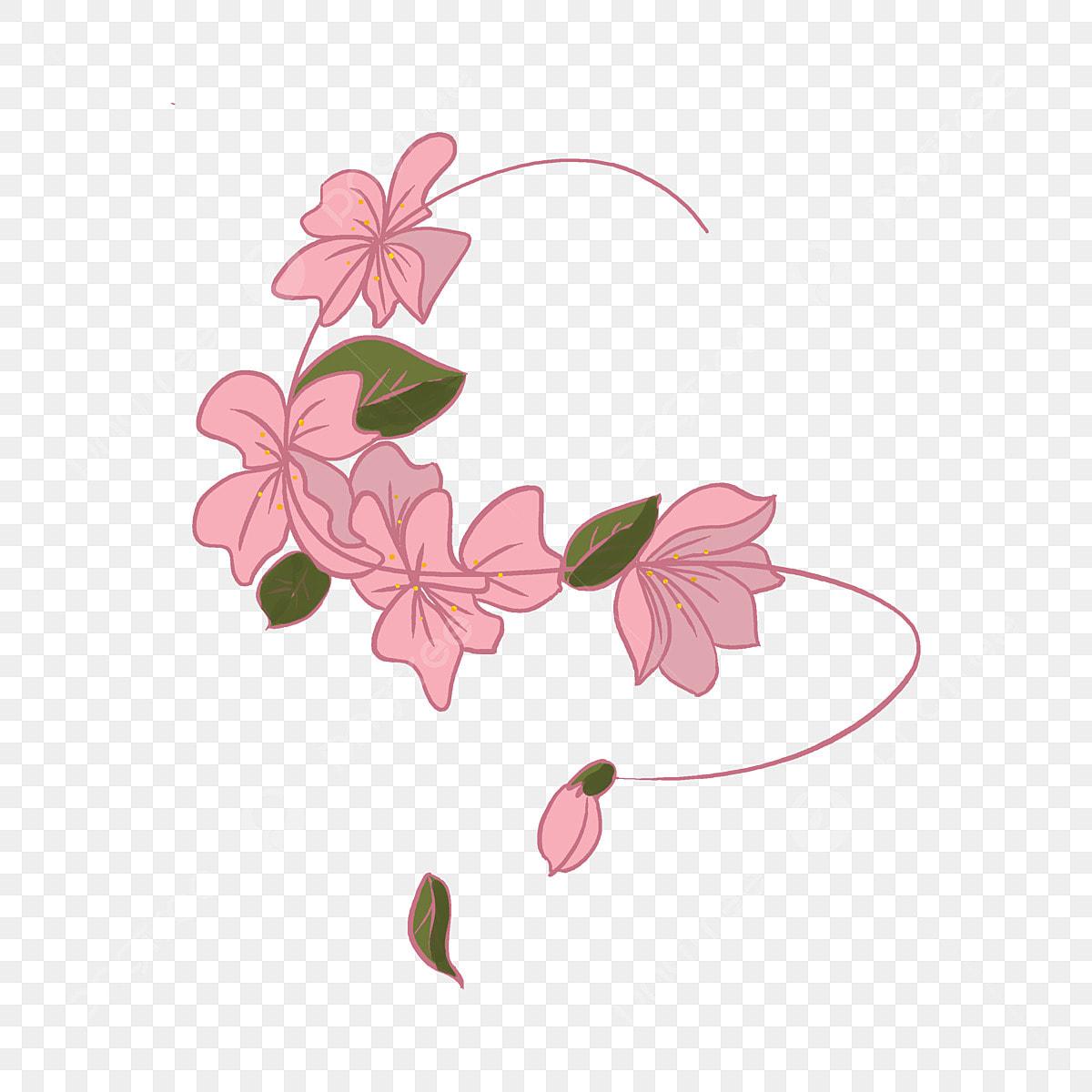 Fleur De Cerisier Japonais Illustration De Dessin Anime