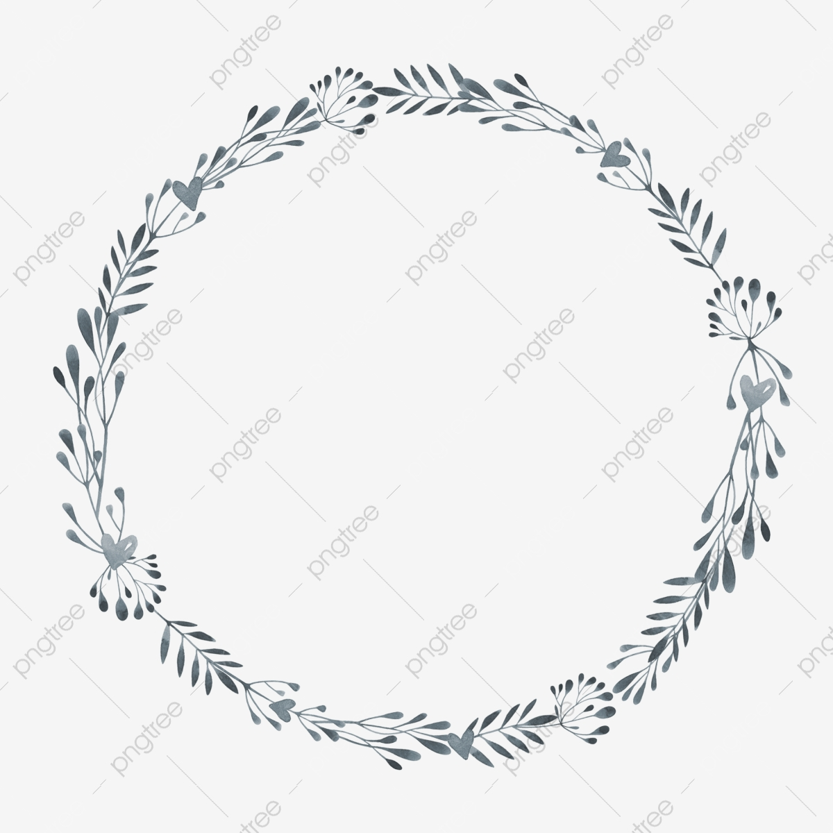 Leaf Wreath Decoration Illustration Wreath Of Leaves Green Garland Beautiful Garland Png Transparent Clipart Image And Psd File For Free Download