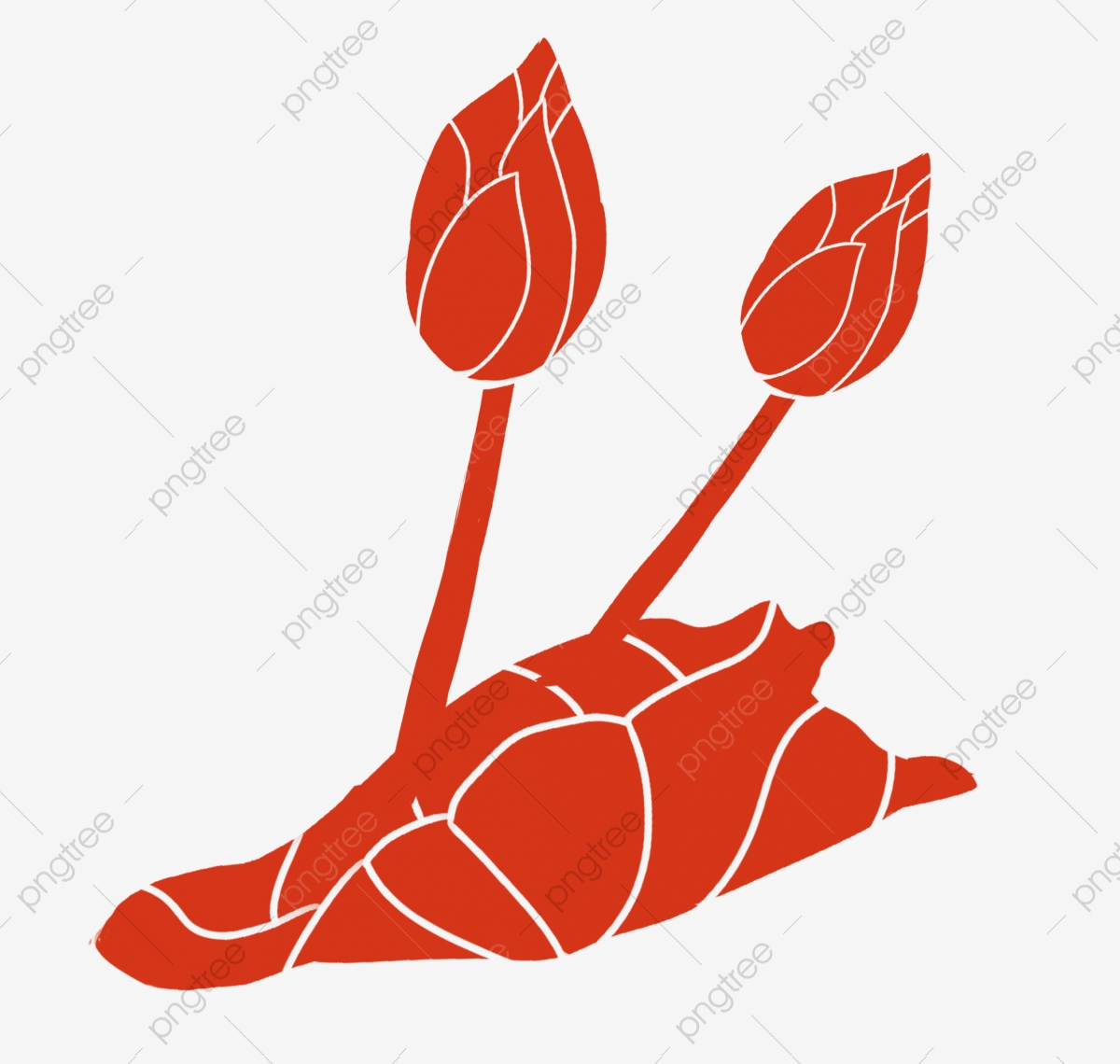 Lotus Flower Cartoon Plant Flowers Lotus Plants Png Transparent Clipart Image And Psd File For Free Download