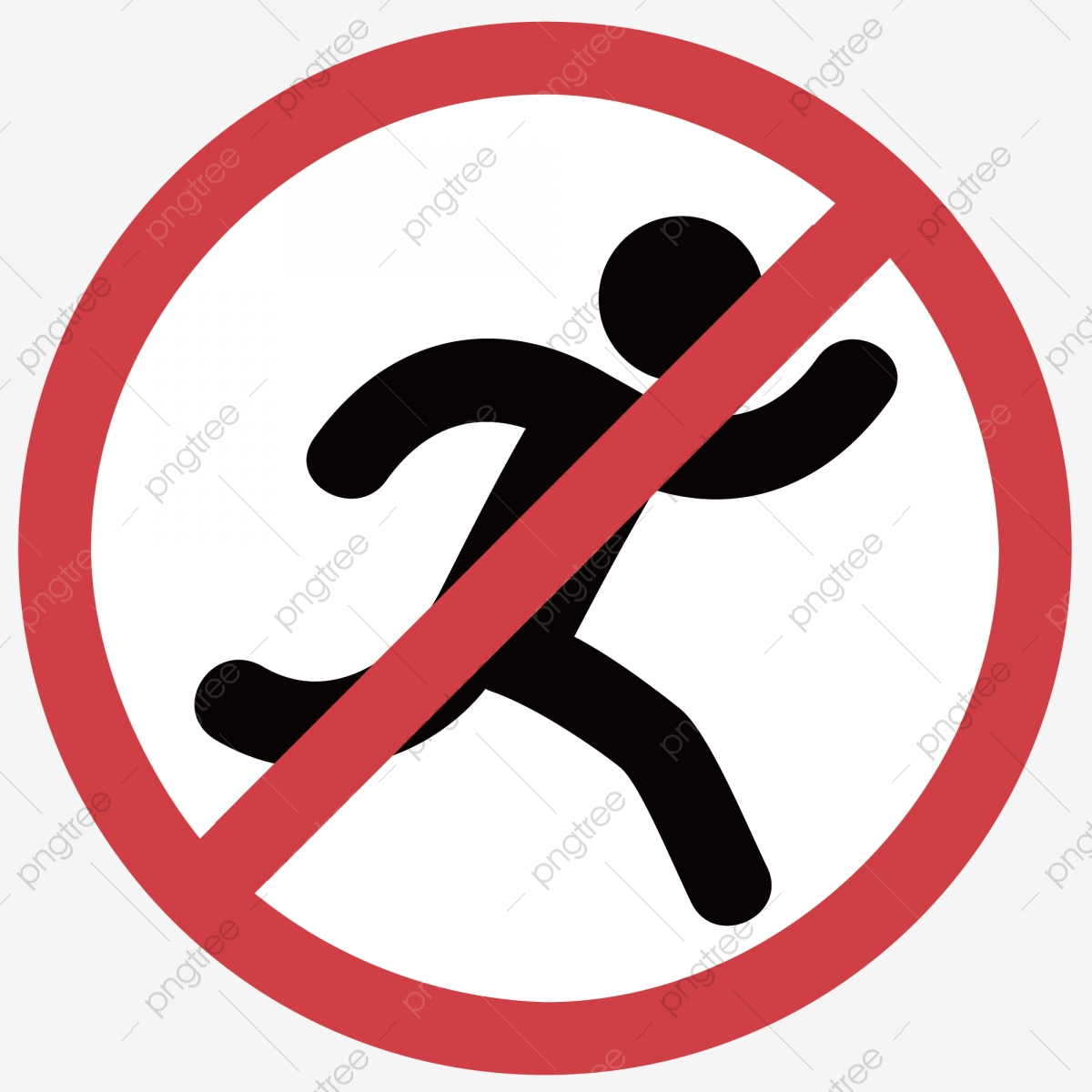 Запрещено бегать картинки