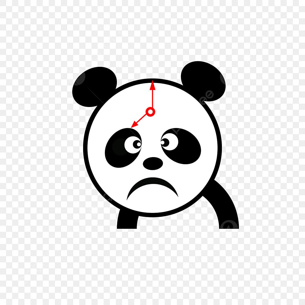 Panda Jam Muat Turun Jam Lucu Panda Jam Omong Kosong Jam