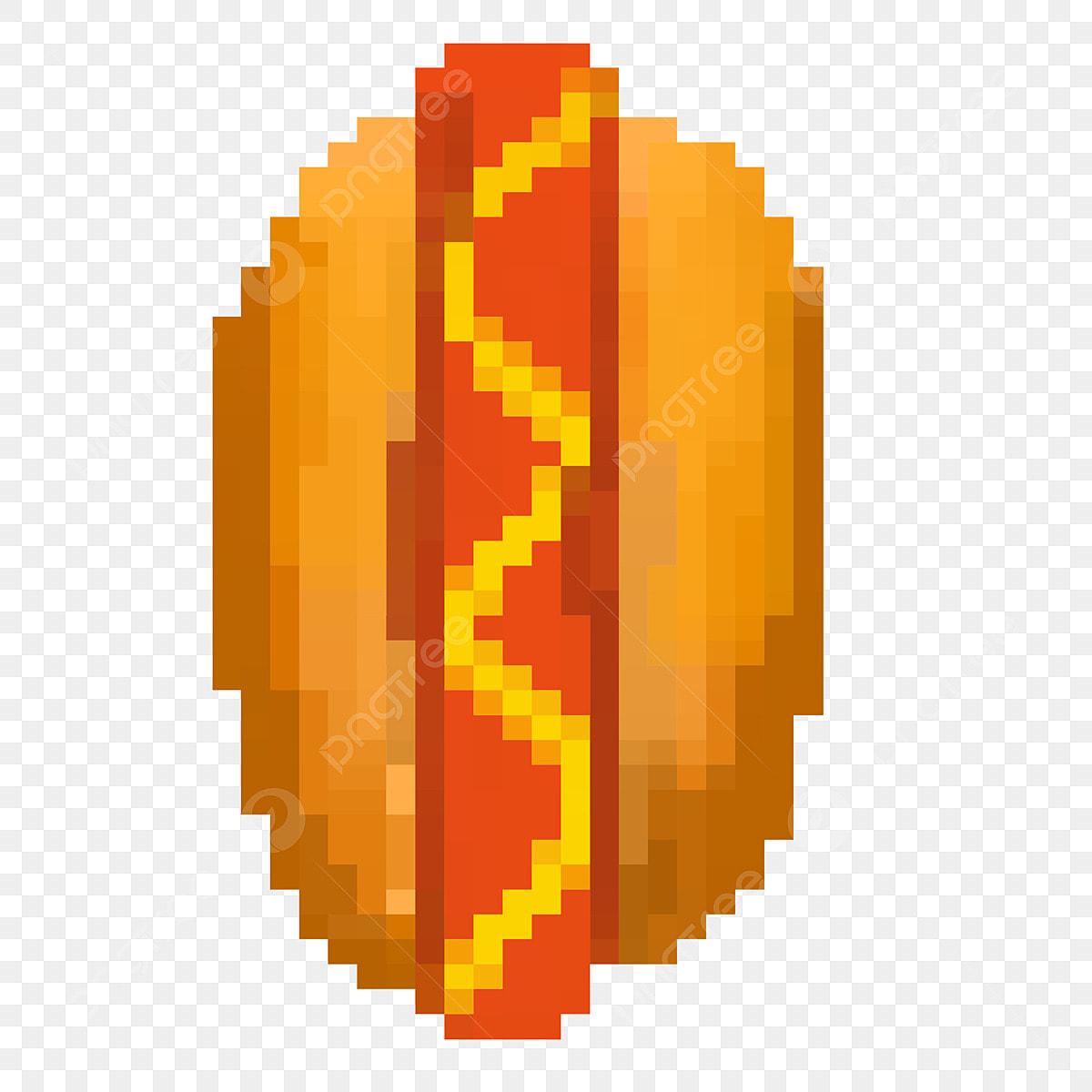 Délicieux Hot Dog Illustration Dessin Animé Pixel