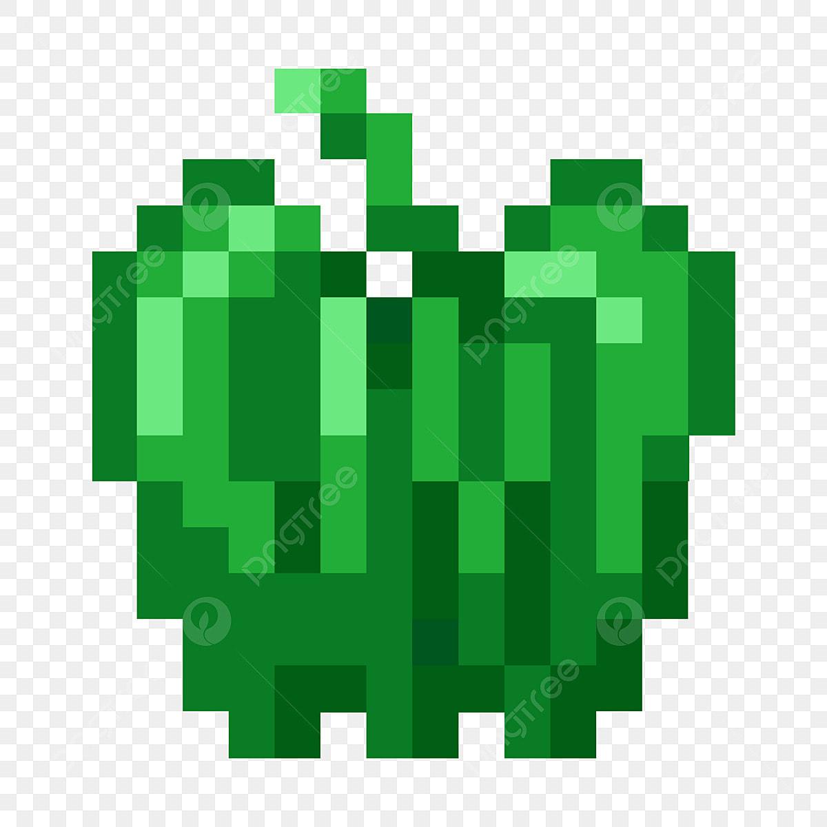 Légume Pixel Illustration De Dessin Animé Illustration De