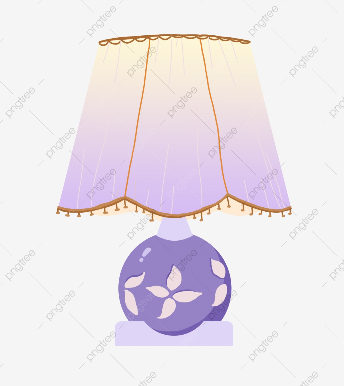 Purple Table Lamp Decoration Illustration Purple Table Lamp Beautiful Table Lamp Creative Table Lamp Png Transparent Clipart Image And Psd File For Free Download