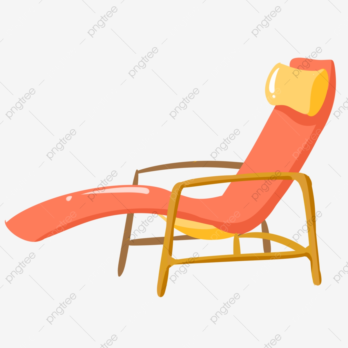 Brilliant Red Comfortable Cartoon Recliner Lounge Chair Seat Squirreltailoven Fun Painted Chair Ideas Images Squirreltailovenorg