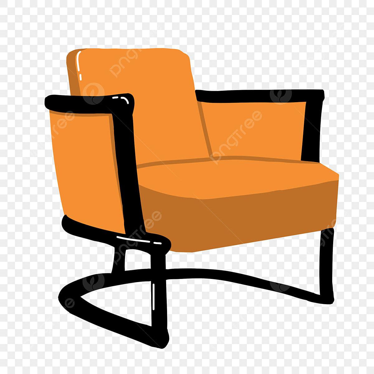 Single Sofa Furniture Illustration Single Sofa Furniture