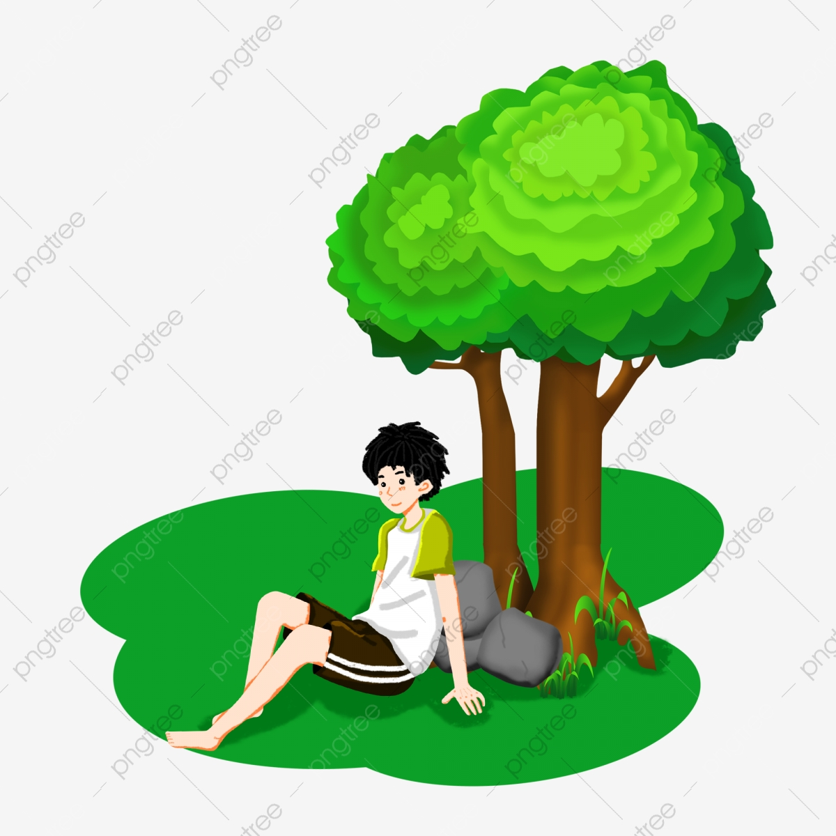 Sitting Under The Tree Png Images Vector And Psd Files Free Download On Pngtree The tree swing cartoon parodies, also known as what the customer really needed (japanese: https pngtree com freepng sitting under the tree boy 4704025 html