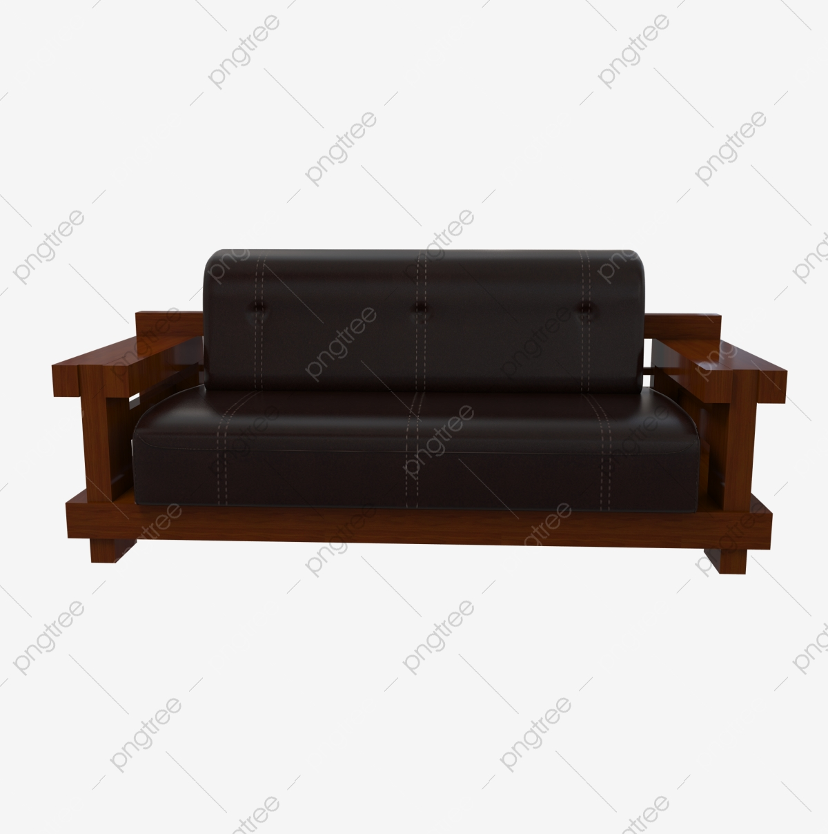 Solid Wood Furniture Leather