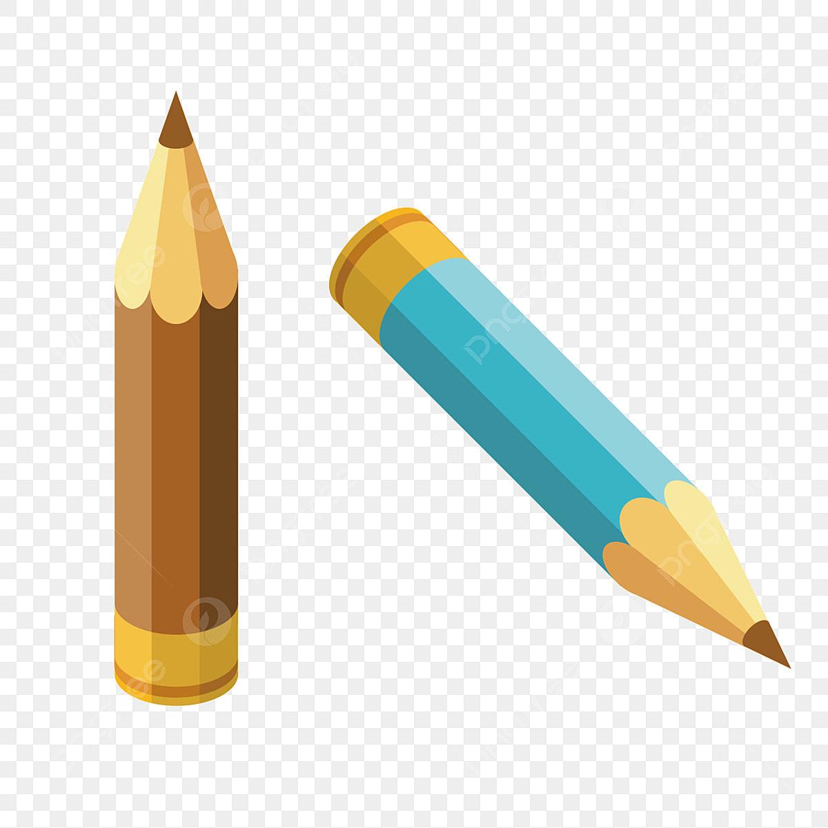 تعلم قلم القرطاسية قلمان ملونان قلم رصاص تعليمي رسم قلم رصاص كارتون تعلم القرطاسية أقلام رصاص ملونة قلم القرطاسية التعليمية Png والمتجهات للتحميل مجانا