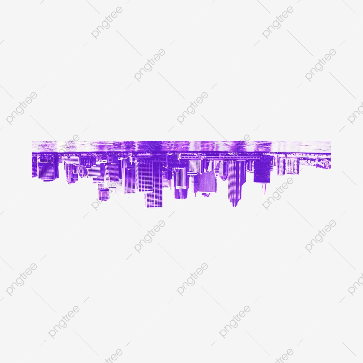 Upside Down Purple Buildings Upside Down Purple Building Png Transparent Clipart Image And Psd File For Free Download